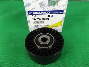 GENUINE SSANGYONG STAVIC MPV 2.7L TURBO DIESEL IDLER PULLEY TOUCH ASSY