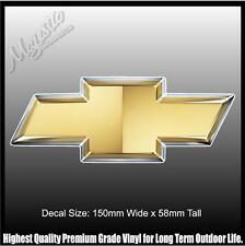 CHEVROLET - DECAL - 150mm x 58mm - CAR DECALS