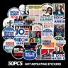 50 pcs Joe Biden & Harris 2020 President Campaign Stickers for Democratic Party