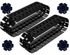 54 Lego Large Tread Links + 4 Sprockets (technic,robot,track,tank,ev3,crane,car)