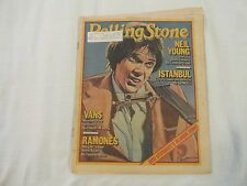 ROLLING STONE-FEB 1979 NO.284 - NEIL YOUNG, RAMONES, VANS, ROD STEWART VG+ COND.