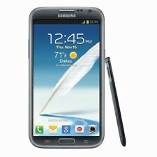 AT&T Samsung Galaxy Note 2 II SGH-i317 16GB Titanium Gray GSM Good Condition