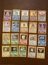 Pokemon - Base Set 2 - COMPLETE Card Lot 1-130 HOLOFOILS - Charizard, Blastoise!