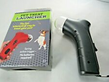 Pet Dog Cat Pet Treat Launcher with Spring Action Trigger Free Shipping