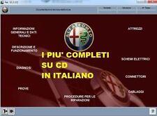 Alfa Romeo 166 Manuale Officina Riparazioni Manutenzione Software ITALIANO SU CD