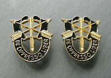 Special Forces De Oppresso Liber Set of 2 Lapel Pins 1 Inch Pin