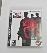 The Godfather II (Sony PlayStation 3, 2009)  COMPLETE  FAST SHIPPING !     PS3