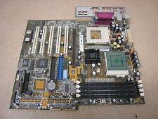 ASUS CUV4X-D Rev 1.03 No CPU/Ram ATX Motherboard w/ I/O Shield Free Shipping