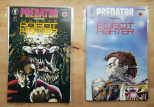 Predator verses Magnus Robot Fighter / Dark Horse Comics - 1993 / #1-2 Complete