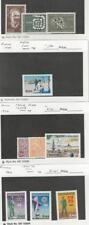 Finland, Postage Stamp, #425-6, 428, 471-3 Mint Lh, 454, 461A, 464A,467A Mint Nh