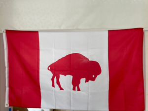 Buffalo Bills Canada Flag 3X5 FT NFL Banner Polyester FAST SHIPPING!!!