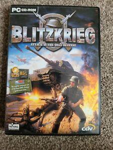 Blitzkrieg PC Game