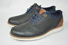 BARBOUR KINGSLEY MENS NAVY TRAINERS  size UK7  US8