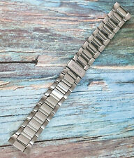 Seiko Stainless Steel Band / Bracelet. M0F2 D W. 311. 23mm Straight End Caps