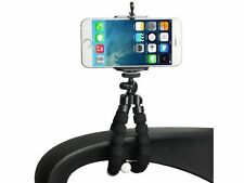 Octopus Mini Flexible Stand Tripod Mount + Free Holder For Smart Phone iPhone{c}