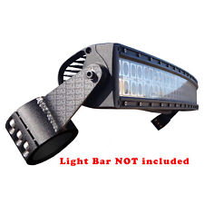 "40"" Radius LED Light Bar Mounting Steel Brackets fits Polaris RZR XP1000 & S 900"