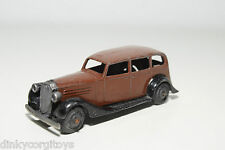 DINKY TOYS 30D 30 D VAUXHALL BROWN WITH BLACK EXCELLENT CONDITION