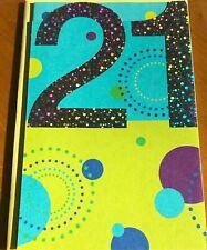 Happy 21St Birthday American Greeting Card Twenty One