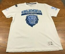 The Tailored Scholar Columbia Lacrosse T Shirt Adult L Excellent