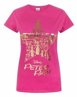 Disney Peter Pan Gold Foil Women's T-Shirt