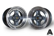 "Autostar Classic 16"" x 7.5"" 4x100 et35 alloys fit Honda Civic EG EK VW Polo UP"