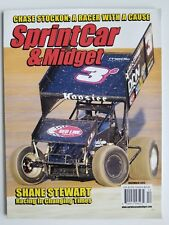 Sprint Car & Midget Magazine - December 2012 -  Shane Stewart Cover