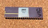 MOS 6567R8 CERAMIC VIC-II U19 C64 COMMODORE 64 CHIP OEM