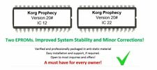 Korg Prophecy - Version 20 Firmware Update OS Upgrade - Final Revision