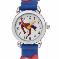 CLEARANCE Spiderman Children's Analogue Wrist Watch. Different Colours Boy Gift