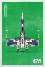 Star Wars The Last Jedi Episode VIII Movie Poster (24x36) - Rebel Fighter v31