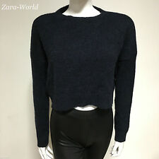 Zara Long Sleeve Cropped Jumpers & Cardigans for Women