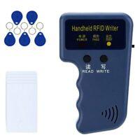 Handheld 125KHz RFID Duplicator Copier Writer Programmer Reader ID Card Cloner
