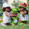 30cm Handmade Baby Doll Knitted Clothes Suit for DIY Doll Dress Up Clothes