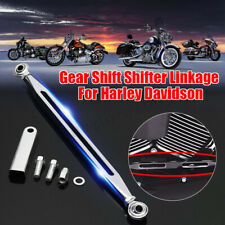 CNC Chrome Gear Shift Linkage Shifter Link Fit For Harley Touring Softail Dyna