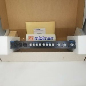 Midiman fineline 24 channel line mixer open box dead stock band sound equipment