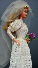 VINTAGE SUPERSTAR BARBIE Bride Sposa Europa versione 1978 Taiwan