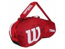 Wilson - WRZ857803 - Team III - 3 Rackets Size Tennis Bag - Red
