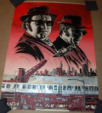 Tim Doyle The Blues Brothers RED VARIANT Poster Signed Print Elwood Joliet Jake