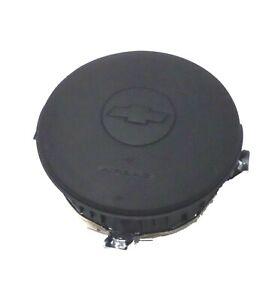 2005-2011 Chevrolet Matiz Factory Black OEM Driver Airbag Module 96423812