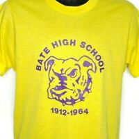Bate High School Bulldogs T Shirt Vintage 80s Louisville KY Made In USA Large