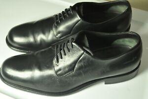 Giorgio ARMANI Black Oxfords Oxford Dress Shoes 10 1/2 US