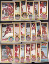 1984 OPC Team SET lot of 20 Calgary FLAMES NM/MT o-pee-chee LOOB (R) Lanny BEERS