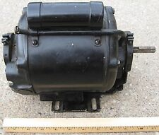 Wagner Electric 1/6HP 110V-AC 1725RPM 1PH AC CAPACITOR START MOTOR. 57V Frame
