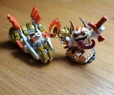 Skylanders Superchargers Double Dare Trigger Happy & Gold Rusher Land Racing