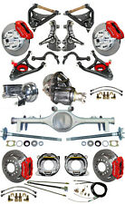 """NEW 2"""" DROP SUSPENSION & WILWOOD BRAKE SET,CURRIE REAR END,ARMS,POSI GEAR,687272"""