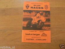 1977 INTERNATIONALE OLOF RACES CIRCUIT BEEKSE BERGEN TILBURG 27-3-1977,HARTOG