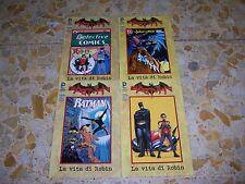BATMAN SPECIALE LA VITA DI ROBIN 1-2-3-4 COMPLETA ED.LION NUOVI PERFETTI RARI!!!