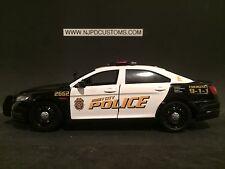 Jersey City NJ Police 1/24 Scale Die-Cast Ford Taurus Police Interceptor