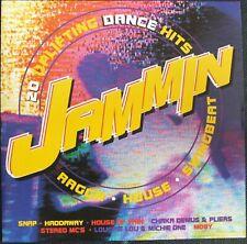 JAMMIN 20 UPLIFTING DANCE HITS. RAGGA HOUSE SWINGBEAT. CD. UK DISPATCH