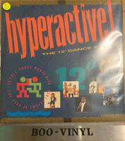 "Hyperactive! The 12"" Dance Album 2xLP COMP (Various - 1988) STAR 2328 Ex Con"
